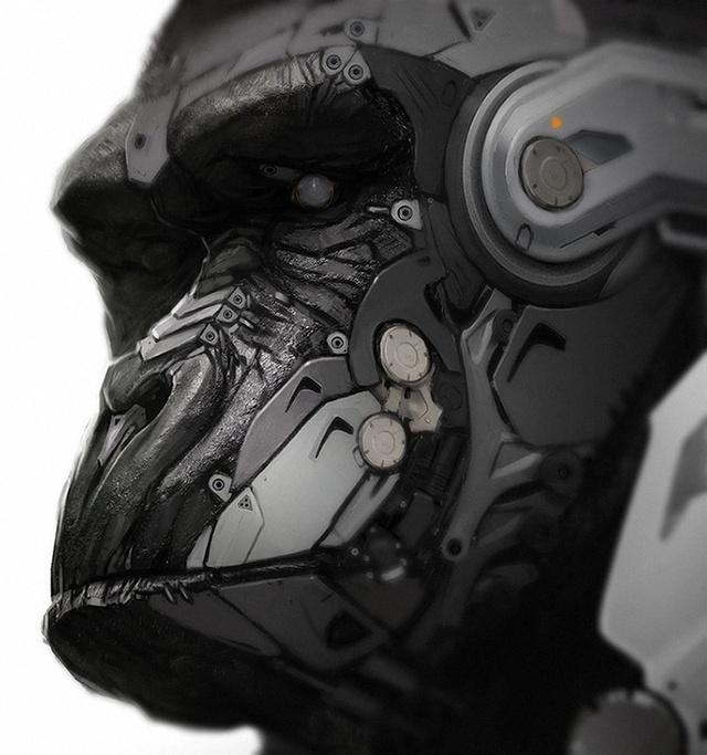 Cyborg Gorilla